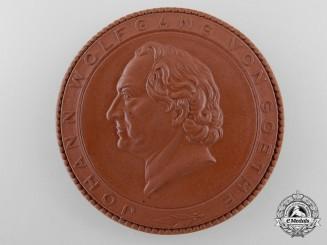 A Johann Wolfgang von Goethe Commemorative Medal