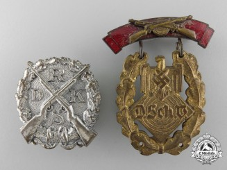 Two Second War German Shooting Awards