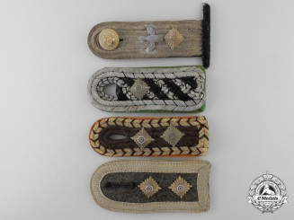 Four German Shoulder Straps