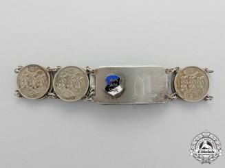 A Pre War Estonian ID Bracelet