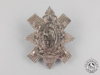 A 5th Regiment Royal Scots of Canada Glengarry Badge, c. 1904