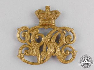 A Victorian Canadian Militia Pouch Badge