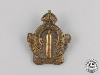 A First War Canadian Imperial Munitions Board Woman Worker Badge