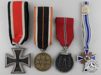 Four Second War German Medals & Awards