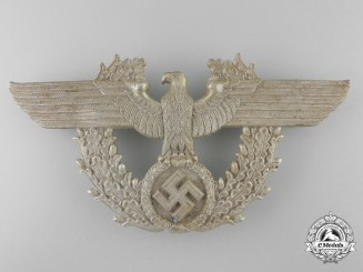 A Second War German Police Shako Eagle