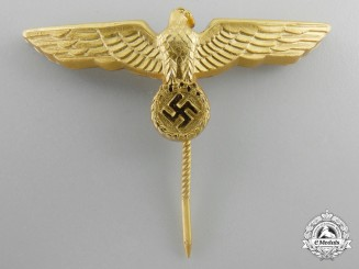 A Kriegsmarine Cap Eagle by Richard Simm & Söhne