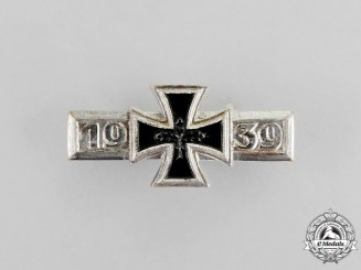 A Wiederholungsspange to the Iron Cross 1939; Alternative 1957 Version