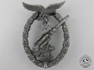 An Luftwaffe Flak Badge by Gebrüder Wegerhoff, Lüdenscheid