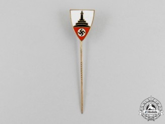 A German National Association of Veterans Membership Stick Pin