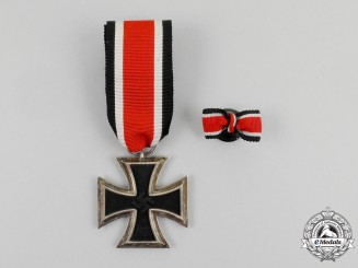A Mint Iron Cross 1939 Second Class with its Boutonniere