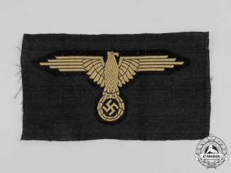 A Mint and Unissued Waffen-SS Tropical Breast Eagle