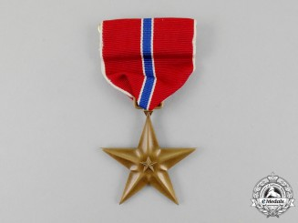 An American Bronze Star Medal