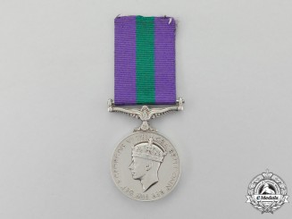 A British General Service Medal 1918-1962, to Signalman M.A.J. Browning, Royal Signals