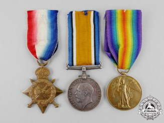 A First War Trio to Sapper (Sergeant) Cyril D. Mackenzie, Royal Engineers