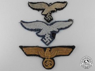 Three German Second War Insignia