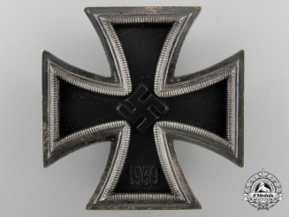 An Iron Cross First Class Named to Hans Sohall