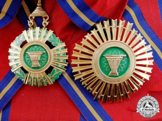 A Cambodian Royal Order of Sahametrei, Grand Cross Set (Post 1995)