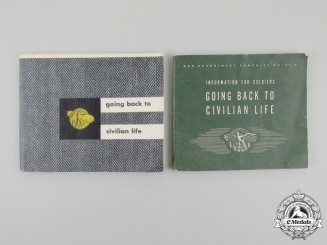 "Two Second War American G. I. ""Going Back to Civilian Life"" Guide Booklets"