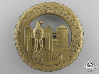A 1944 German Kreisschiessen Badge
