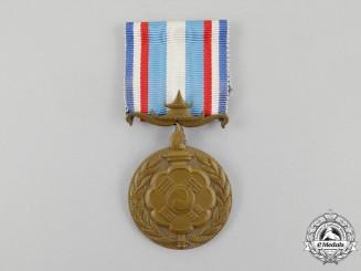 France. A Korean War Service Medal