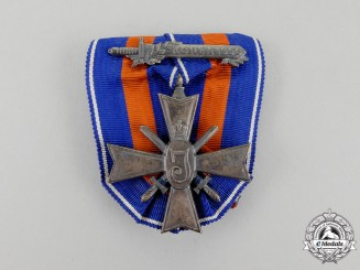 Netherlands. A Dutch Cross for Freedom and Justice, Korea 1950