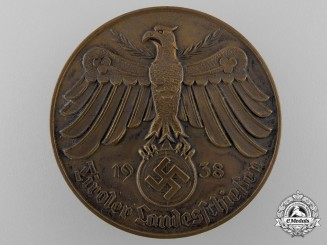 A 1938 Tyrolean Country Shooting (Tiroler Landesschiessen) Shooting Award; Bronze Grade