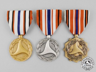 Three American Department of Transportation Medals