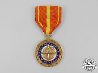 An American Federal Aviation Administration (FAA) Valor Medal
