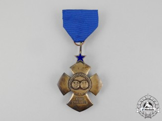 An American Port of New York Authority Medal for Valor