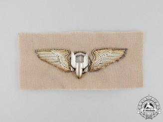 United States. A Bullion United States Army Air Forces Aerial Gunner Badge, c.1945