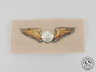 A Second War Bullion United States Army Air Forces Navigator Badge