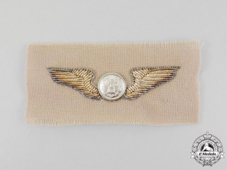 United States. A Bullion United States Army Air Forces Aircrew Badge, c.1945
