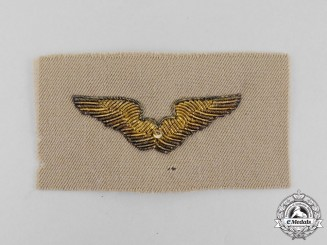 A Second War Bullion United States Army Air Forces Instructor Badge
