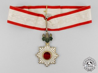A Japanese Order of the Rising Sun; 3rd Class, Commander