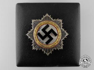 A German Cross in Gold by Zimmermann to Luftwaffe Oberleutnant Karl Schuh