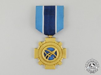 United States. A NASA Distinguished Service Medal