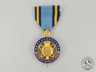 An American Defense Intelligence Agency Exceptional Civilian Service Medal