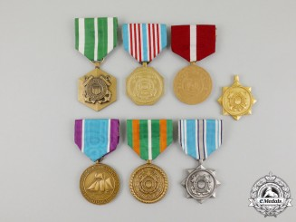 United States. Seven United States Coast Guard Medals