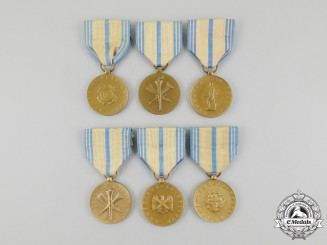 Six American Armed Forces Reserve Medals