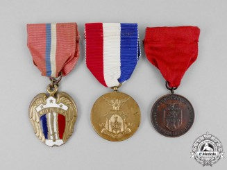 Three Second War Philippines Medals