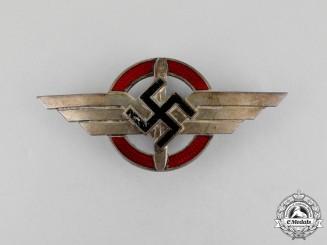 A Third Reich Period DLV Cap Badge