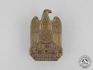A 1933 NSDAP Nüremberg National Party Day Badge