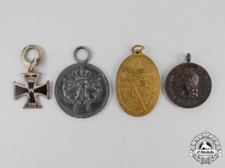 A Grouping of Four First and Second War German Medals and Awards
