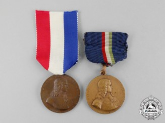 Two Pennsylvania National Guard Mexican Border Service Medals