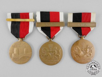 Three Second War Occupation Medals