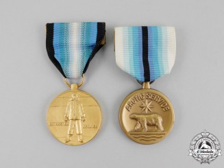 Two American Polar Service Medals