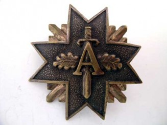 A Latvian Organization Badge