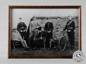 United Kingdom. A Boer War Era Group Portrait