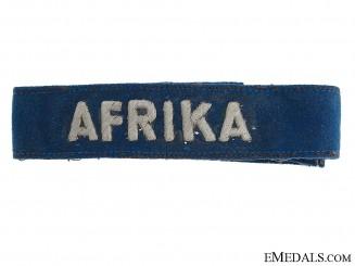 Luftwaffe AFRIKA Cufftitle – Officer's Version