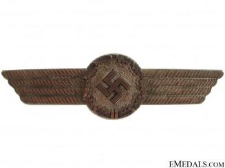 Luftwaffe Civilian Employee Visor Insignia